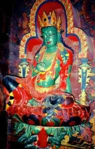 Green_Tara,_Kumbm,_Gyantse,_Tibet,_1993