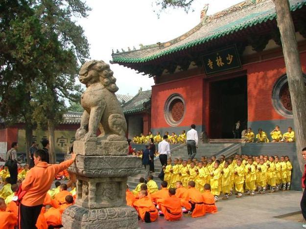 Shaolin Temple, Dengfeng county, Zhengzhou, Henan province, China